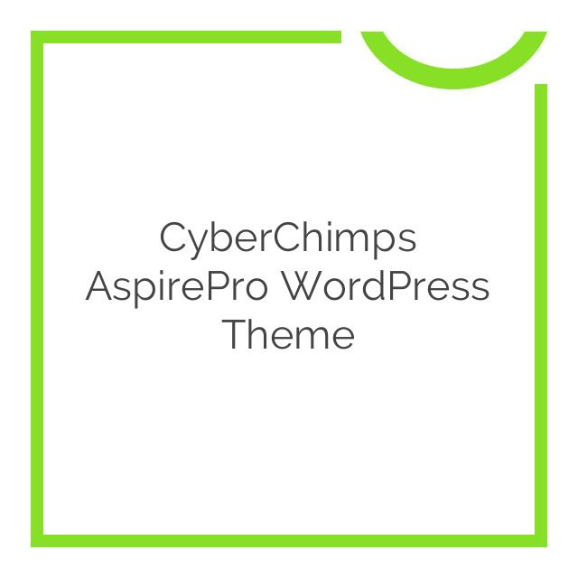 CyberChimps AspirePro WordPress Theme 1.5