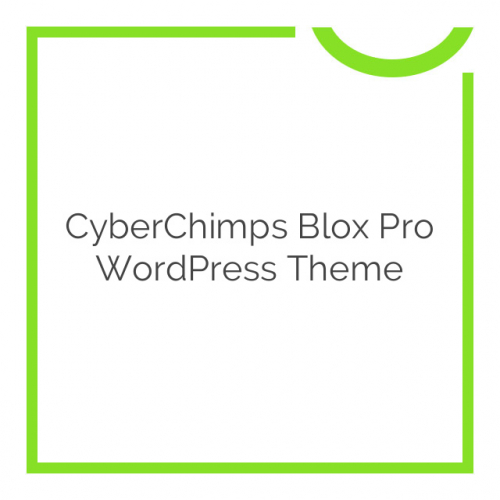 CyberChimps Blox Pro WordPress Theme 1.1