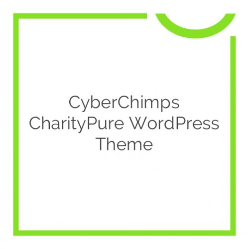 CyberChimps CharityPure WordPress Theme 1.2