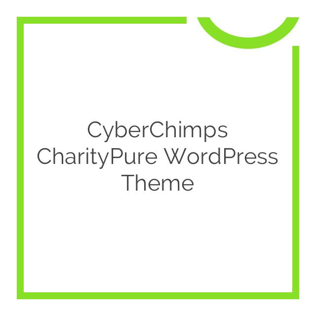 CyberChimps CharityPure WordPress Theme 1.2