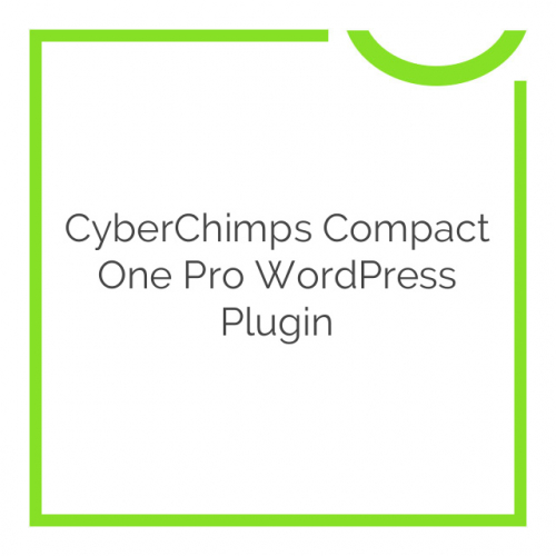 CyberChimps Compact One Pro WordPress Plugin 1.0.0