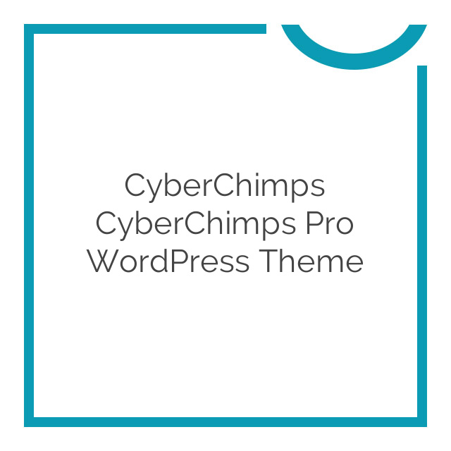 CyberChimps CyberChimps Pro WordPress Theme 1.6