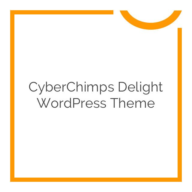 CyberChimps Delight WordPress Theme 1.0.0.4