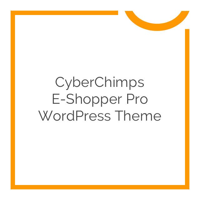 CyberChimps e-Shopper Pro WordPress Theme 2.4