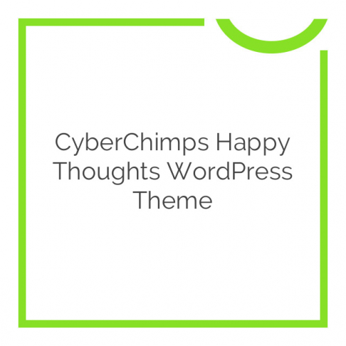CyberChimps Happy Thoughts WordPress Theme 1.2