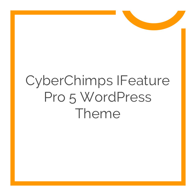 CyberChimps iFeature Pro 5 WordPress Theme 6.8
