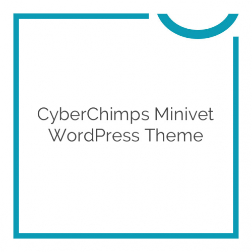 CyberChimps Minivet WordPress Theme 1.5
