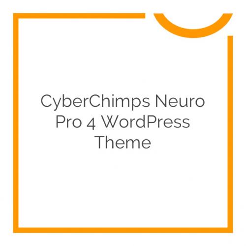 CyberChimps Neuro Pro 4 WordPress Theme 4.1