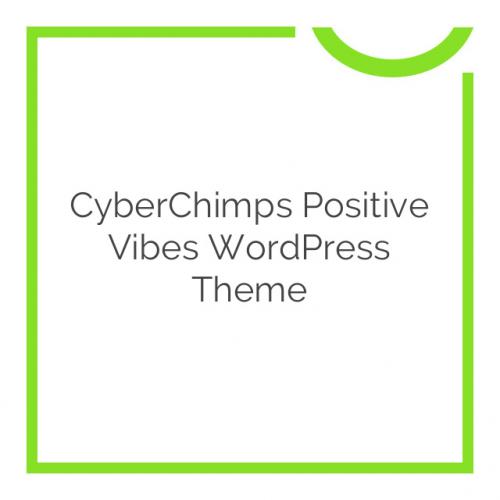CyberChimps Positive Vibes WordPress Theme 1.5