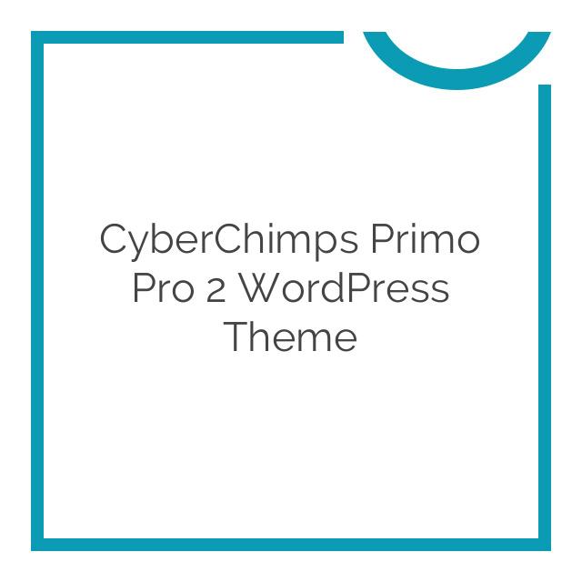 CyberChimps Primo Pro 2 WordPress Theme 1.2