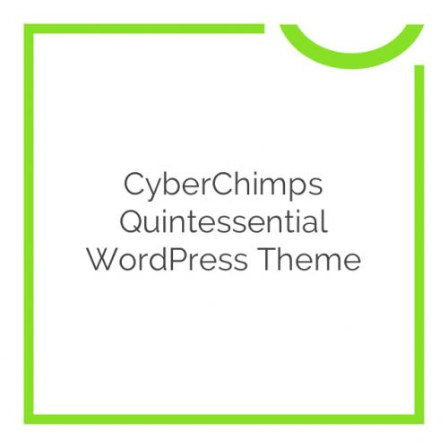 CyberChimps Quintessential WordPress Theme 1.1