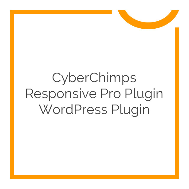 CyberChimps Responsive Pro plugin WordPress Plugin 1.2