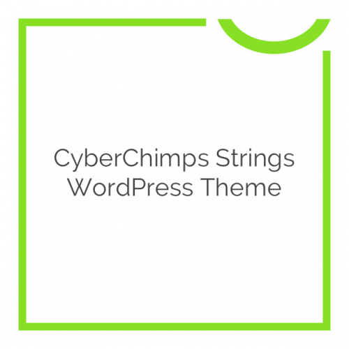 CyberChimps Strings WordPress Theme 1.1