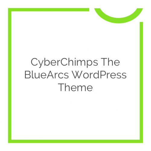 CyberChimps The BlueArcs WordPress Theme 1.4