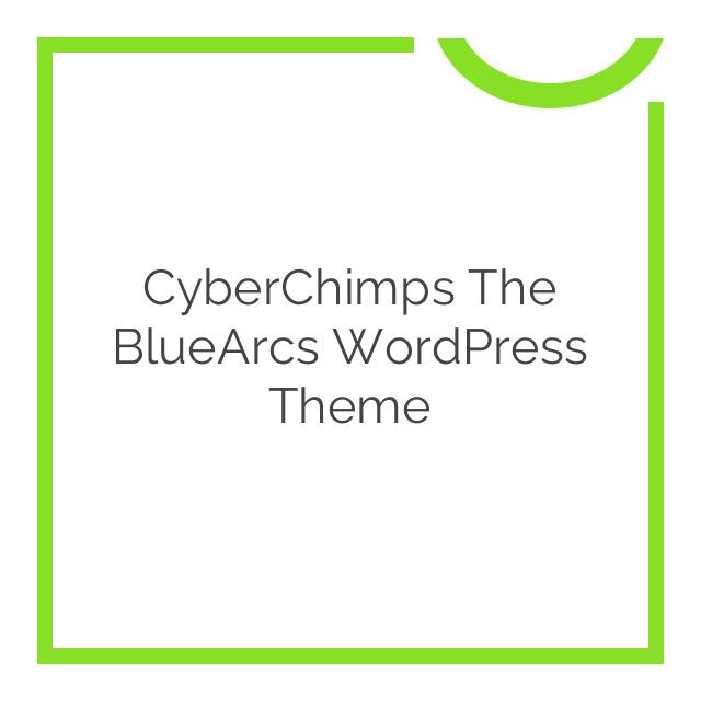 CyberChimps The BlueArcs WordPress Theme 1.4
