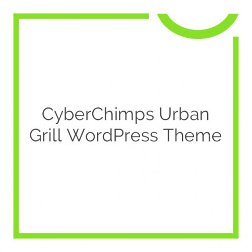 CyberChimps Urban Grill WordPress Theme 1.0.0