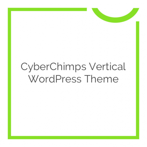 CyberChimps Vertical WordPress Theme 1.2
