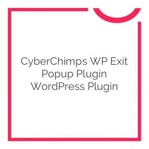 CyberChimps WP Exit Popup Plugin WordPress Plugin 2.3
