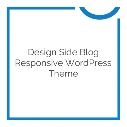 Design Side Blog Responsive WordPress Theme 2.0.1