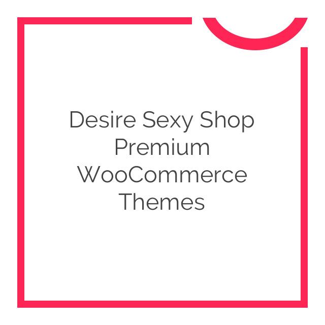 Desire Sexy Shop Premium WooCommerce Themes 1.1.6