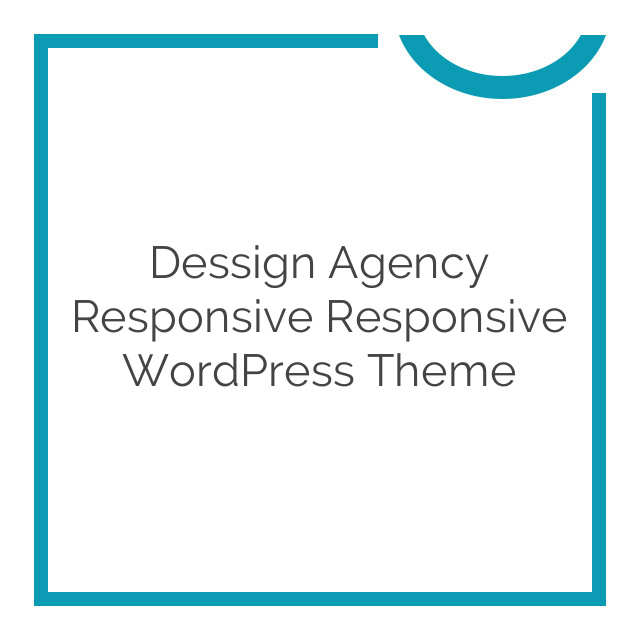Dessign Agency Responsive Responsive WordPress Theme 2.0.1