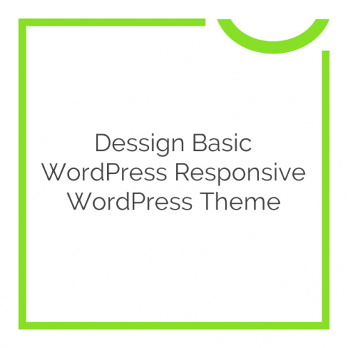Dessign Basic WordPress Responsive WordPress Theme 2.0.1