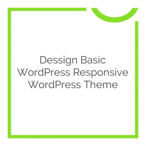 Dessign Basic WordPress Responsive WordPress Theme 2.0.1