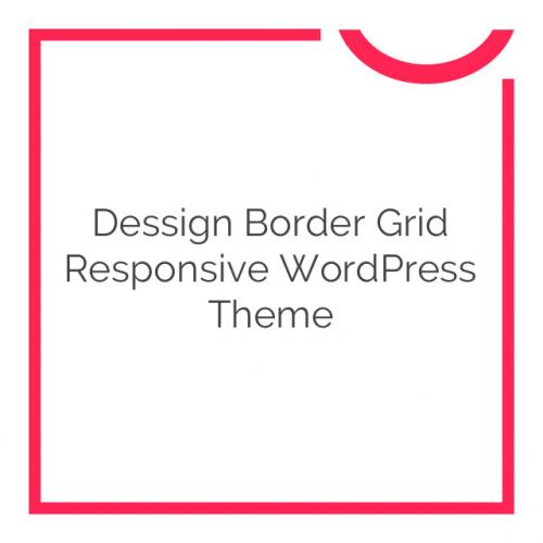 Dessign Border Grid Responsive WordPress Theme 2.0.1