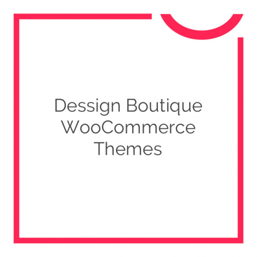 Dessign Boutique WooCommerce Themes 3.0.0
