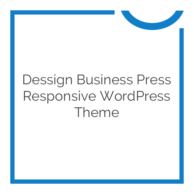 Dessign Business Press Responsive WordPress Theme 2.0.1