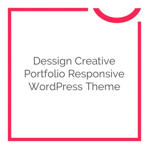 Dessign Creative Portfolio Responsive WordPress Theme 2.0.3