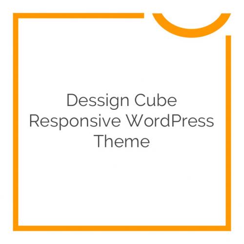 Dessign Cube Responsive WordPress Theme 1.0.2