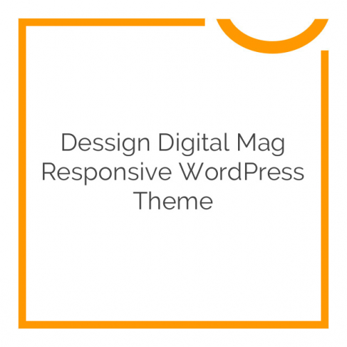 Dessign Digital Mag Responsive WordPress Theme 1.0.1