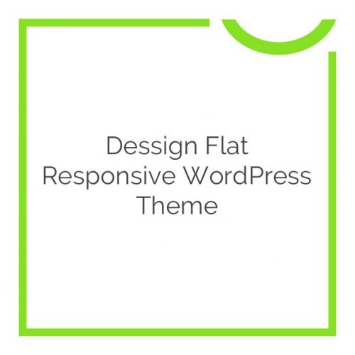 Dessign Flat Responsive WordPress Theme 2.0.1