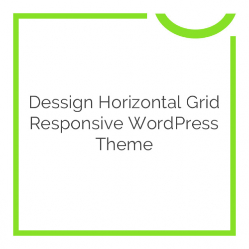 Dessign Horizontal Grid Responsive WordPress Theme 2.0