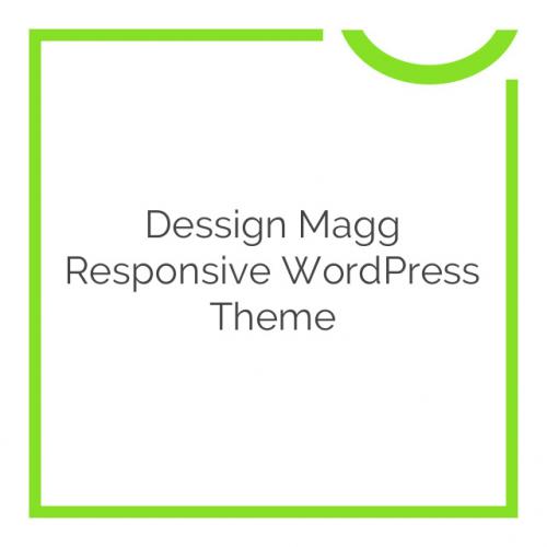 Dessign Magg Responsive WordPress Theme 2.0.1