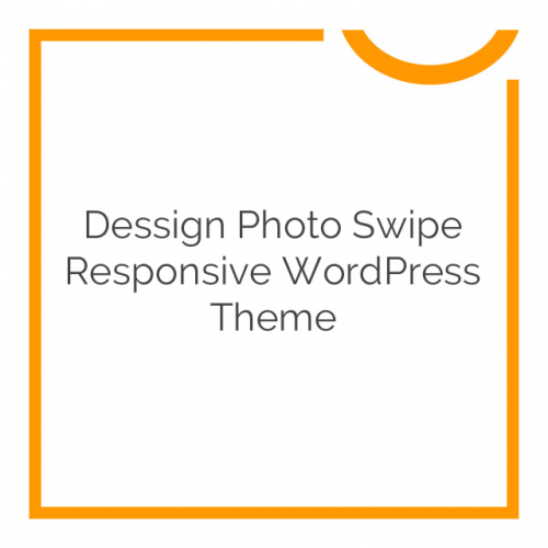 Dessign Photo Swipe Responsive WordPress Theme 2.0