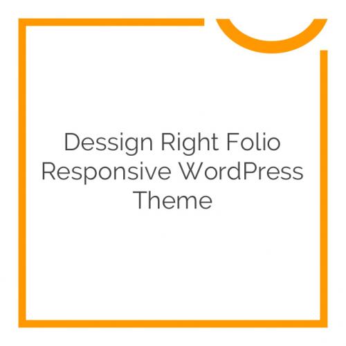 Dessign Right Folio Responsive WordPress Theme 2.0.1