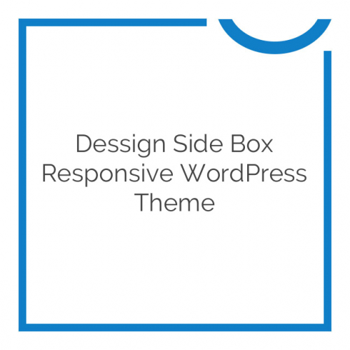 Dessign Side Box Responsive WordPress Theme 2.0.1