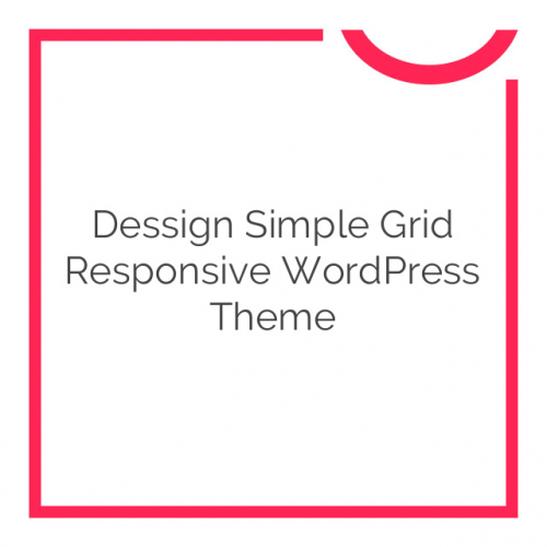 Dessign Simple Grid Responsive WordPress Theme 3.0