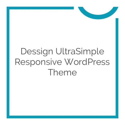 Dessign UltraSimple Responsive WordPress Theme 3.0