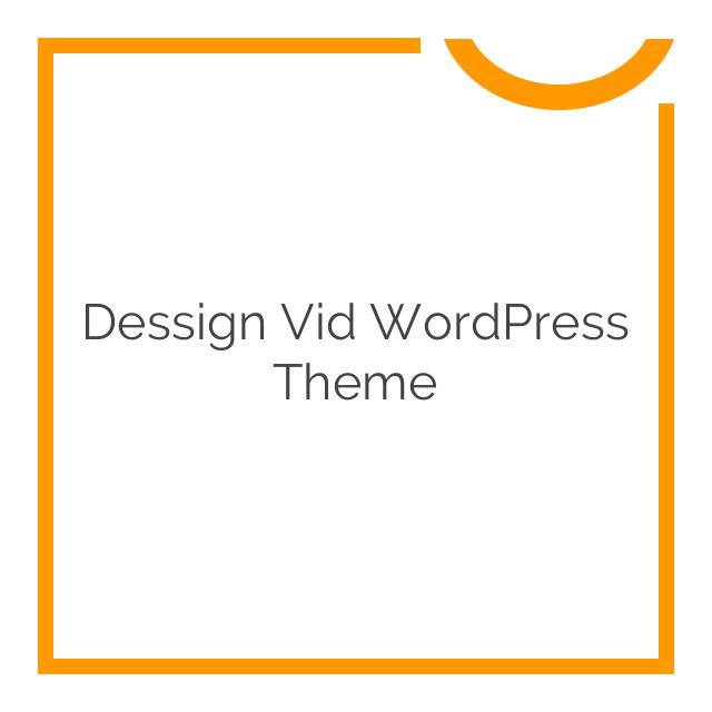 Dessign Vid WordPress Theme 2.0.1