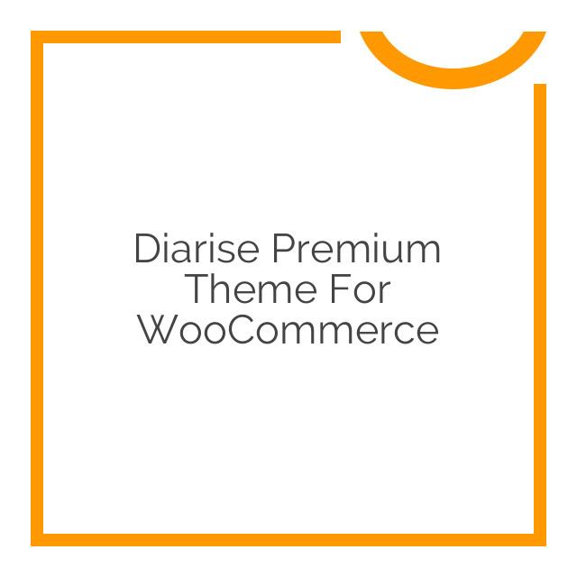 Diarise Premium Theme for WooCommerce 1.5.9