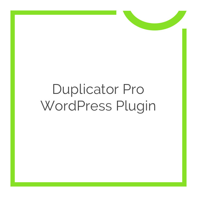 Duplicator Pro WordPress Plugin 3.5.4.2