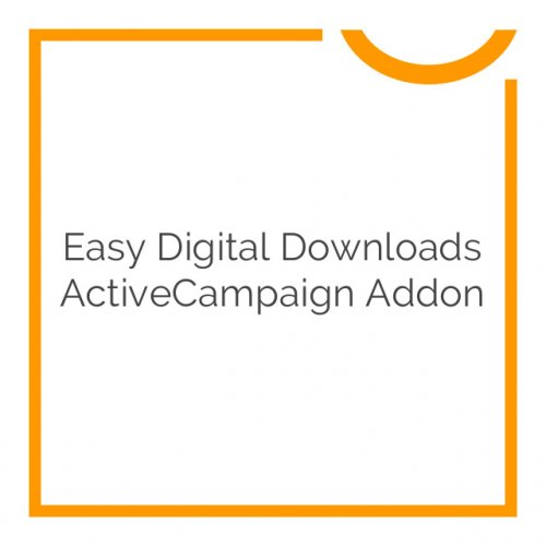 Easy Digital Downloads ActiveCampaign Addon 1.1.0