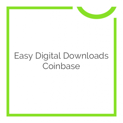 Easy Digital Downloads Coinbase 1.0.5