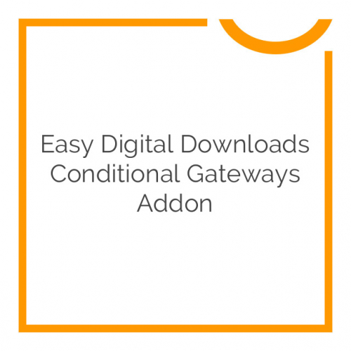 Easy Digital Downloads Conditional Gateways Addon 1.0.3