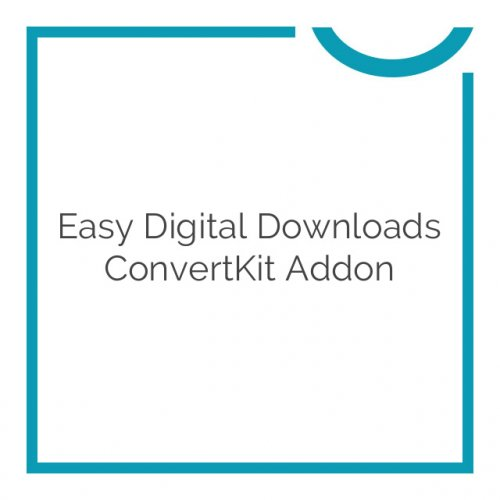Easy Digital Downloads ConvertKit Addon 1.0.5