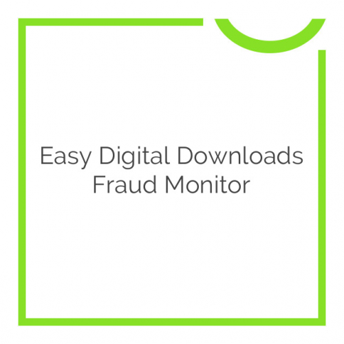 Easy Digital Downloads Fraud Monitor 1.1.2