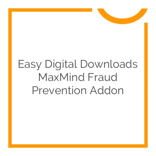 Easy Digital Downloads MaxMind Fraud Prevention Addon 1.0.0